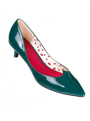 Banned Green Vilma Retro Court Shoes