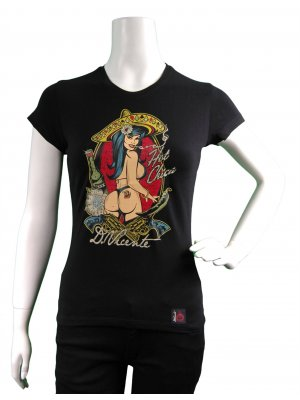 D Vicente Hot Chica Women's Fitted T-Shirt