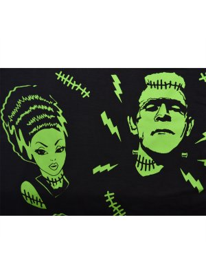 Banned Frankenstein & Bride Leggings