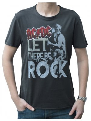 Amplified AC/DC Let There Be Rock Crew Neck T-Shirt