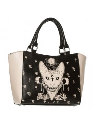 Banned Bastet Small Tote Bag