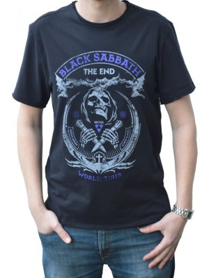Amplified Black Sabbath The End Crew Neck T-Shirt