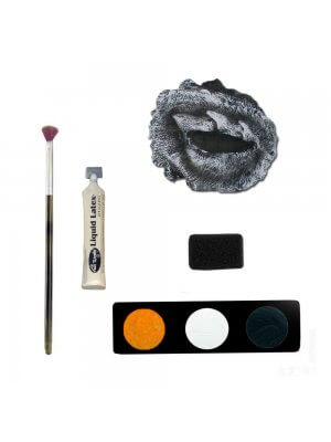 Zombie Missing Eye Make Up Kit